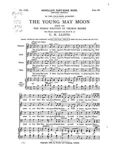 THE YOUNG MAY MOON for Brass Quintet
