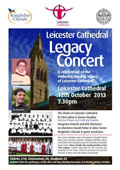 David Fisher - LEICESTER CATHEDRAL LEGACY CONCERT, 12th October 2013