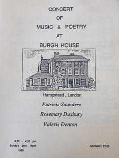 Rosemary Duxbury - Remembering my London debut - the 25th anniversary